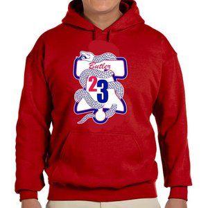 Philadelphia 76ers Jimmy Butler Hooded Sweatshirt